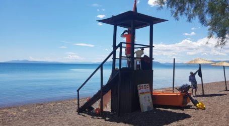 Ν. Αγχίαλος: Σε πλήρη ετοιμότητα η παραλία για τους λουόμενους [εικόνες]