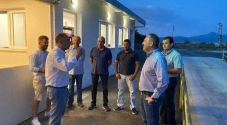 Στα Δένδρα Tυρνάβου ο Χρήστος Κέλλας – Συνομίλησε με παραγωγούς της περιοχής (φωτο)