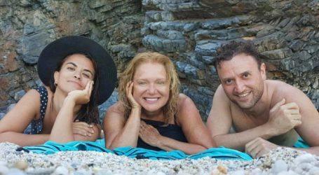 Απολαμβάνει το καλοκαίρι στο Πήλιο η Μαρία Καβογιάννη