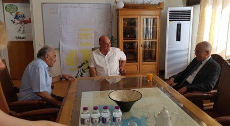 Επίσκεψη του Ισραηλινού πρέσβη στο Δημαρχείο Βόλου – Η υποδοχή Μπέου [εικόνες και βίντεο]