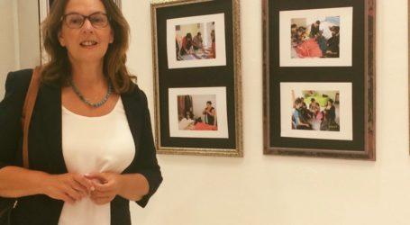 Στην έκθεση για τις «γυναίκες ρομά που δημιουργούν» η Κ. Παπανάτσιου