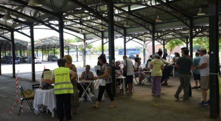 Έσπευσαν στην Σκεπαστή Αγορά Νεάπολης οι Λαρισαίοι καταναλωτές για αγορές χωρίς μεσάζοντες (φωτο)