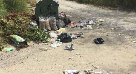«Στα κάγκελα» επιχειρηματίες και κάτοικοι της Σωτηρίτσας για δρόμο που μετατράπηκε σε σκουπιδότοπο (φωτο)
