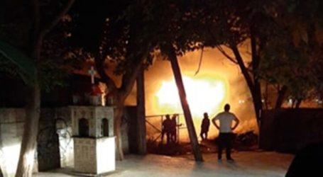 Λάρισα: Συναγερμός μέσα στη νύχτα για φωτιά στον σταθμό του ΟΣΕ – Δείτε φωτογραφίες