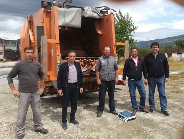 Συνέλεξαν Κενές Συσκευασίες Φυτοπροστατευτικών Προϊόντων στο δήμο Τεμπών