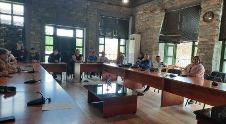 Σύσκεψη στο Μακρυχώρι με πρωτοβουλία του δήμου Τεμπών