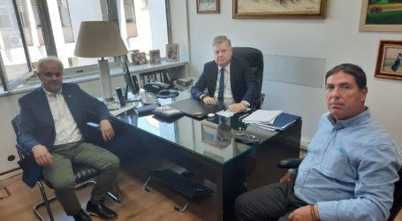 Συνάντηση για την ενίσχυση της συνεργασίας με το Υπουργείο Δικαιοσύνης στο δήμο Τεμπών