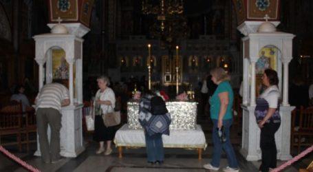 Δείτε φωτογραφίες: Αγρυπνία για την εορτή του Αγίου Πνεύματος τελέσθηκε στον Άγιο Αχίλλιο