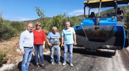 Δήμος Τεμπών: Ολοκληρώνεται η αγροτική οδοποιία στο Πουρνάρι