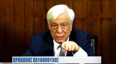 Όσα είπε ο Προκ. Παυλόπουλος στη διάλεξη της «Μαγνήτων Κιβωτού»