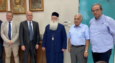Επίσκεψη του Πρέσβη του Ισραήλ στον Μητροπολίτη Δημητριάδος Ιγνάτιο