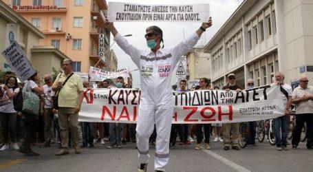 Βόλος: Συλλαλητήριο κατά της καύσης σκουπιδιών από τη Λαϊκή Συνέλευση Πλ. Ελευθερίας