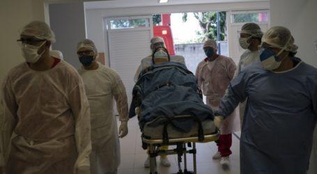 480 νέοι θάνατοι και 16.409 νέα κρούσματα στη Βραζιλία