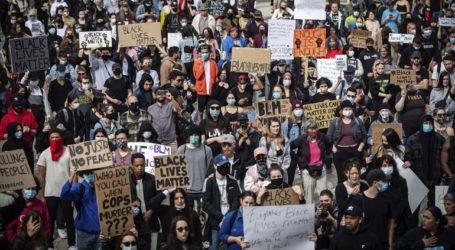 Διαδήλωση στο Σίδνεϊ για τον θάνατο του Τζορτζ Φλόιντ
