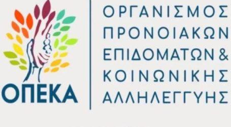 Στις 15 Ιουνίου επαναλειτουργεί η πλατφόρμα του ΟΠΕΚΑ για το επίδομα παιδιού και την υποβολή αιτήσεων