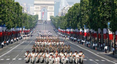 Η εθνική γιορτή της 14ης Ιουλίου θα τιμηθεί φέτος με μια τελετή στο Παρίσι