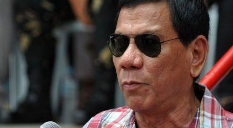 Ο πρόεδρος Ντουτέρτε επανέλαβε την απειλή του να σκοτώσει τους διακινητές ναρκωτικών