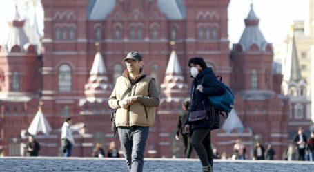 Η Ρωσία ανέφερε σήμερα 8.855 νέα κρούσματα κορωνοϊού