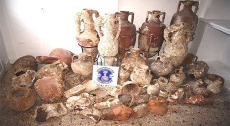Δύο συλλήψεις για κατοχή αρχαίων αντικειμένων σε Κάλυμνο και Πάρο