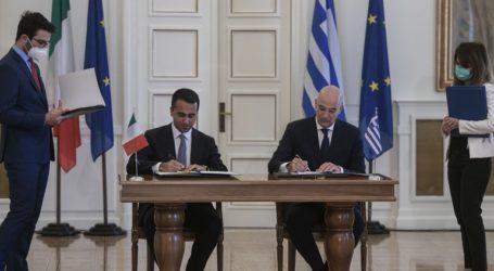 Αποκαλύψεις Δένδια για τις διαπραγματεύσεις με Ιταλία για την ΑΟΖ: «Επιτέλους τελειώσαμε»