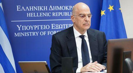 Συνομιλία Ν. Δένδια με τον υπουργό Εξωτερικών των Ηνωμένων Αραβικών Εμιράτων