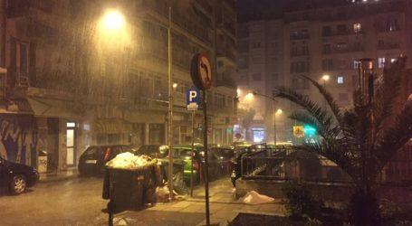 Μικροπροβλήματα από την κακοκαιρία στη Θεσσαλονίκη