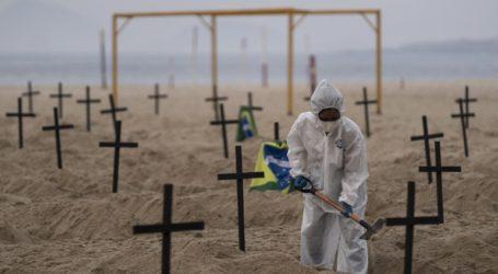 Ξεπέρασαν τους 40.000 οι νεκροί στη Βραζιλία