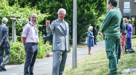 Κάρολος και Ουίλιαμ στην πρώτη δημόσια εμφάνισή τους μετά το lockdown
