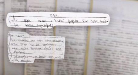 Νέες χειρόγραφες σημειώσεις της 35χρονης βιτριολίστριας