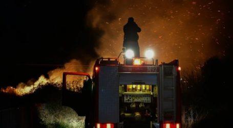 Πυρκαγιά για τέταρτη φορά σε μία ημέρα κοντά στη ΒΙ.ΑΛ.