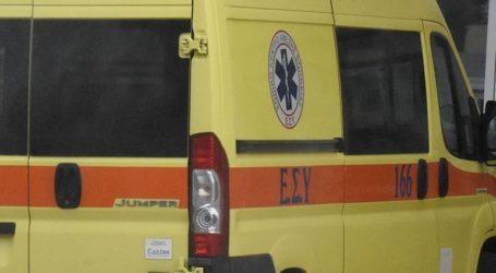 Σοβαρός τραυματισμός σε τροχαίο στην Κορινθία