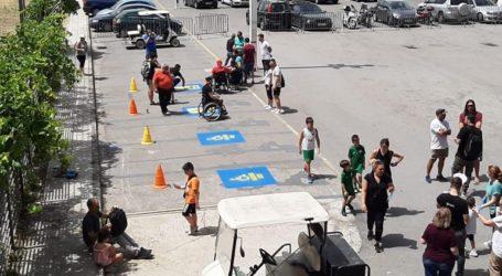 Αυξήθηκαν οι θέσεις στάθμευσης για άτομα με αναπηρία στο πάρκινγκ του κολυμβητηρίου του ΟΑΚΑ