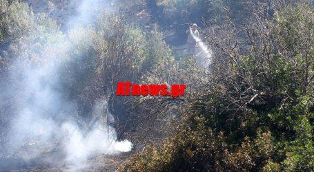 Πυρκαγιά στους Αγίους Θεοδώρους Κορινθίας