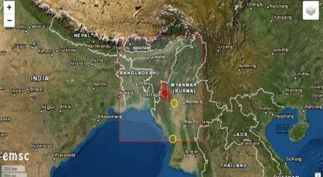 Ισχυρός σεισμός 5,8 Ρίχτερ στη Μιανμάρ