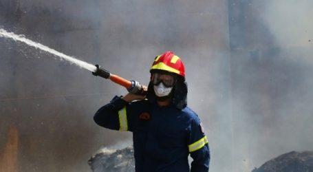 Μεγάλη φωτιά στον ΧΥΤΑ Τεμπλονίου