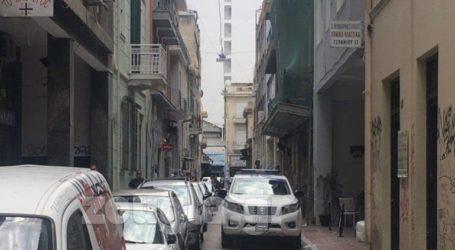 Επιχείρηση της ΕΛ.ΑΣ. σε εγκαταλελειμμένο κτήριοστην οδό Γερανίου