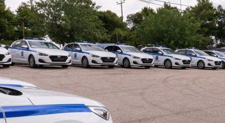 Τα 35 νέα οχήματα που προστέθηκαν στον στόλο της Ελληνικής Αστυνομίας