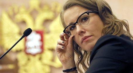 Η Audi διέκοψε τη συνεργασία με τη Ρωσίδα τηλεπαρουσιάστρια Ξένια Σαμπτσάκ