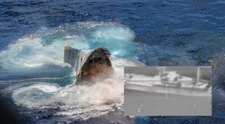 Εντυπωσιακές εικόνες από άσκηση με πραγματικά πυρά και βύθιση πλοίου