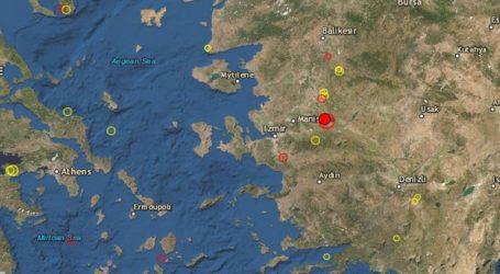 Σεισμός 5,6 Ρίχτερ κοντά στη Σμύρνη σε χαμηλό εστιακό βάθος