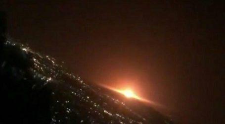 Έκρηξη φιάλης αερίου προκάλεσε την «πορτοκαλί λάμψη» που φάνηκε στον ουρανό της Τεχεράνης