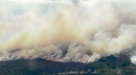 Εστία δασικής πυρκαγιάς για πρώτη φορά στον πολικό κύκλο της Σιβηρίας