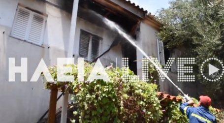 Ηλικιωμένος απανθρακώθηκε από πυρκαγιά σε σπίτι