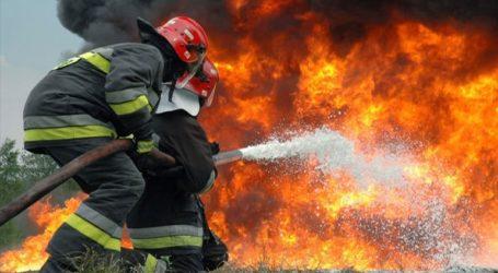 Πυρκαγιά σε δασική έκταση στη Βάρη Αττικής