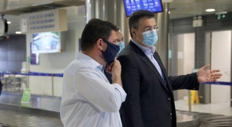 825 δείγματα θα ελέγχονται καθημερινά στο αεροδρόμιο Ηρακλείου, από 1η Ιουλίου