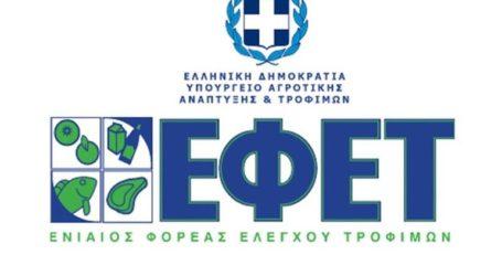 ΕΦΕΤ: Ανάκληση μη ασφαλούς προϊόντος