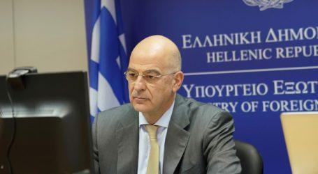 Η Ελλάδα θα συνεχίσει να συνδράμει στην προσπάθεια ανοικοδόμησης της Συρίας