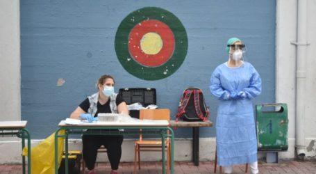 Λάρισα: Πολύ μικρή και σήμερα η συμμετοχή στη δειγματοληψία στις σχολικές μονάδες της Νέας Σμύρνης