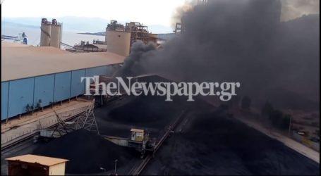 Τώρα: Φωτιά στην ΑΓΕΤ [Εικόνες]