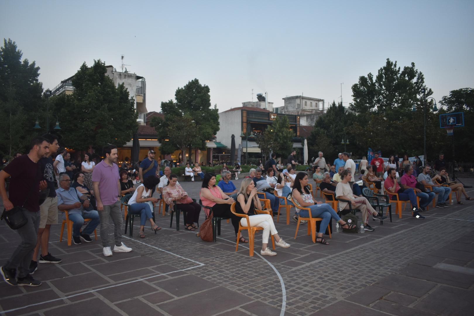 Εκδήλωση κατά των Ναρκωτικών διοργάνωσε το ΚΚΕ στη Λάρισα (φωτο)